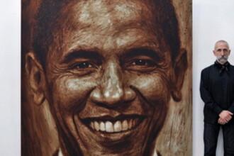 Obama, subiect de expozitie artistica la Bucuresti