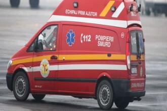 Accident violent pe DN13. Trei morti si noua raniti