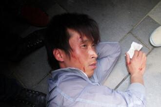 Bataie pe iPad2 la Beijing. Geamuri sparte si 4 raniti in vria dupa tableta