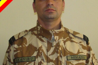 Sublocotenentul Constantin Lixandru, mort in Afganistan, a fost repatriat