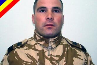 Caporalul Catalin-Ionel Marinescu, ucis in Afganistan, a fost inmormantat