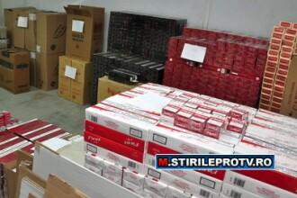 Actiune in forta a politiei pentru prinderea contrabandistilor de tigari