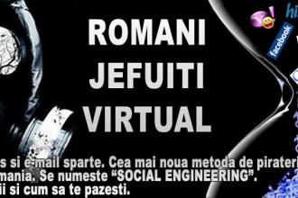 Romani jefuiti virtual. Mii de conturi de mess si e-mail sparte
