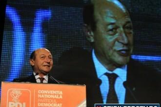 VIDEO. Basescu, cu ochii in lacrimi la PDL. Vezi de ce s-a emotionat
