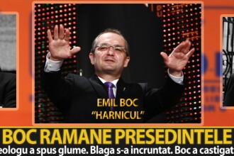 Emil Boc ramane presedintele Partidului Democrat Liberal