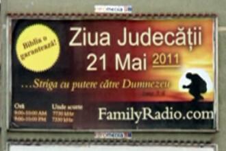 Afisele care anunta sfarsitul lumii au ajuns in Romania. FOTO