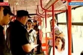 IMAGINILE ZILEI: Razie in direct la Stirile ProTV - cum au reactionat hotii de buzunare din tramvaie