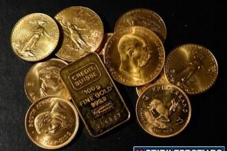 Criza de aur. Metalul pretios a ajuns la 35 de euro gramul