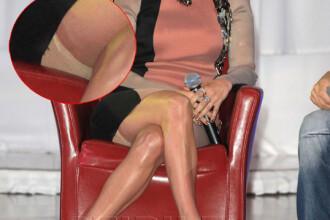 Secretul de sub rochia extrem de scumpa. Jennifer Lopez s-a facut de ras la o conferinta de presa