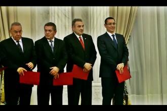 Guvernul Ponta remaniat: Mircea Dusa, Radu Stroe, Dan Sova si Mona Pivniceru, noii ministri