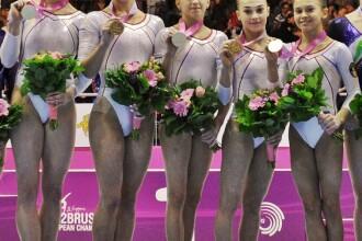 Campioanele Europei s-au intors acasa cu 4 medalii de aur si 2 de argint