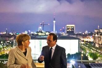 Hollande si Merkel, la unison: Vrem ca Grecia sa ramana in Zona Euro. Alegerile au loc luna viitoare