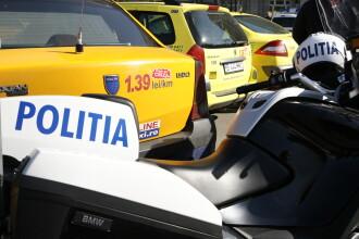 Un politist pe motocicleta a fost ranit intr-un accident provocat de o soferita care nu s-a asigurat