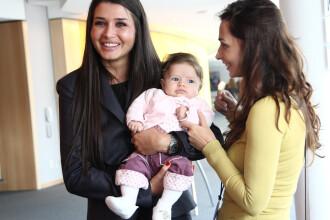 Bebelusii romanilor din Statele Unite l-au emotionat pe Basescu.