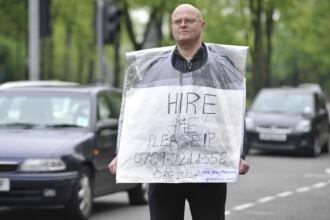 Gestul disperat al unui om care a fost refuzat de peste 15.000 de angajatori.