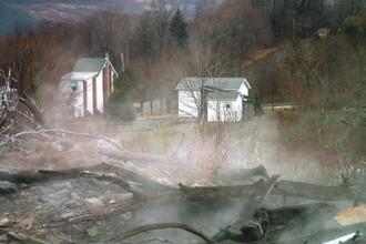Orasul fantoma din SUA care ARDE de jumatate de secol. FOTO si VIDEO
