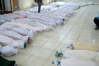 Peste 100 de oameni au murit dupa un atac al fortelor guvernamentale siriene asupra unui sat