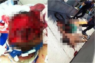 Canibalul din Miami a ajuns pe internet. Fotografiile cu el si victima sa sunt socante