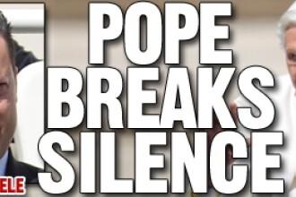 Papa Benedict rupe tacerea: primele cuvinte rostite despre fata nevazuta si corupta a Vaticanului