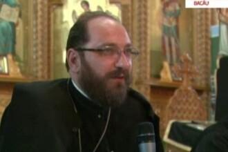 Constantin Necula, singurul preot care a iesit in strada, la proteste: