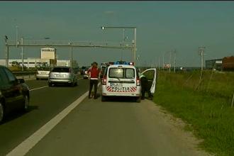 Sofer prins pe autostrada Bucuresti-Pitesti cu 220 de kilometri pe ora