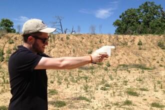 Primul pistol din lume scos la o imprimanta 3D a fost testat cu succes
