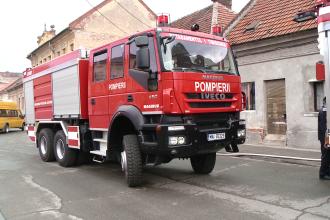 Misiune dificila pentru pompierii din Alba. Un barbat a fost gasit fara suflare la 15 metri inaltime