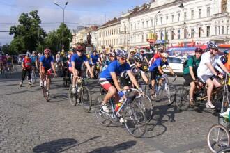 Intrecere de ciclism rutier la Sibiu. Concurentii vor avea de parcurs un traseu de 18 kilometri
