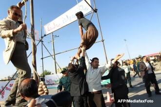 Un iranian condamnat la moarte a fost