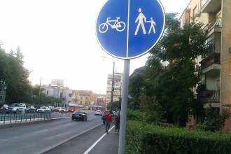 S-a inaugurat cea mai lunga pista de biciclete din Deva: 2,5 kilometri. Ce promite primarul orasului