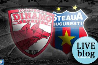 DINAMO - STEAUA, 0-2. Stelistii bat in derby prin autogolul lui Boubacar si reusita lui Tanase