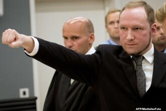 Anders Breivik, autorul masacrului din Norvegia, se plange de