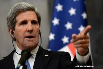 Secretarul de Stat al SUA, John Kerry: Avem dovezi solide privind folosirea armelor chimice in Siria