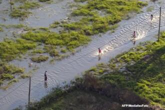 Risc de inundatii pe raurile Crisul Alb si Crisul Negru. Hidrologii au emis avertizare de cod galben