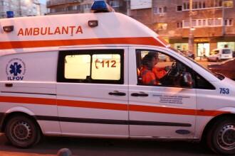 Cinci persoane, duse la spital dupa un accident rutier in lant produs in Capitala