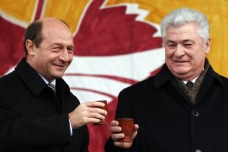Vladimir Voronin sustine ca Traian Basescu ii suna pe oficialii de la Chisinau in stare de ebrietate