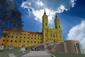 Au inceput lucrarile de reabilitare a Manastirii Maria Radna. Investitia depaseste 11 milioane euro