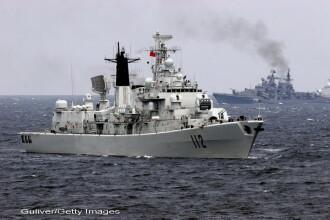 Rusia a trimis nave militare in largul Siriei, semn ca se opune unei interventii occidentale