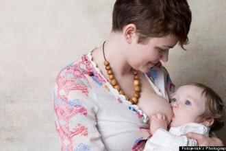 O femeie din Franta se ofera sa alapteze bebelusii cuplurilor gay pentru 100 de euro pe zi