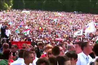 Pelerinaj impresionant in Harghita: 150.000 de oameni, dar nicio busculada sau macar o voce ridicata