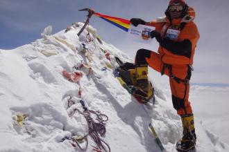 Aventurile lui Horia Colibasanu in drumul spre cucerirea varfului Lhotse. VIDEO