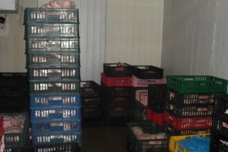 Timis: Peste 40 de kilograme de carne confiscate intr-o actiune pentru combaterea evaziunii fiscale