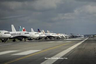 Avion depresurizat, care venea de la Bruxelles, a aterizat in siguranta pe Aeroportul