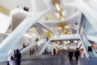 Orasul in care se construieste cea mai extravaganta statie de metrou din lume. GALERIE FOTO