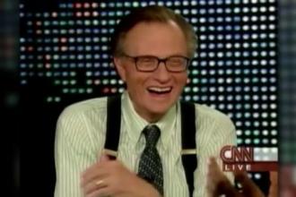 Larry King, fostul realizator-vedeta de la CNN, va avea show pe Russia Today