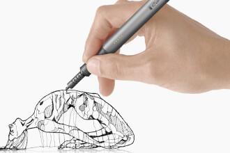 Stiloul care deseneaza obiecte in aer. Tehnologia de vis creata prin generozitatea internautilor