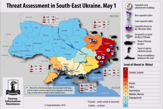 Criza din Ucraina. Presedintele a reintrodus stagiul militar obligatoriu. Un diplomat rus a fost arestat la Kiev