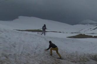 Romanii care au preferat zapada in loc de plaja, de 1 Mai. Care au fost principalele distractii la munte