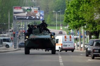 Criza in Ucraina. Oficial: Operatiunea militara impotriva insurgentilor prorusi va continua, indiferent de referendum