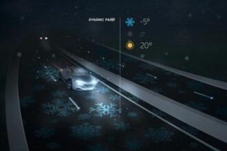 Autostrada inteligenta se ilumineaza singura,
